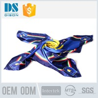 Famous painting digital print cashmere silk scarf for women
