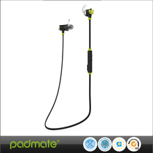 Padmate Sport Folding Wireless Bluetooth Headphone /Earplug with BT 4.0