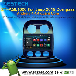accessories for car for JEEP 2015 COMPASS with Android 4.4.4 QUARD CORE