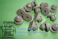 rubber compression plug