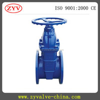 Flanged gate valve dimensions