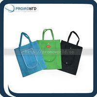 Folding shopping bag nonwoven Colored shopping bag cheapest shopping bag
