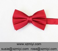 100% Silk Self Tie Cheap Red Bow Ties With Factory Price