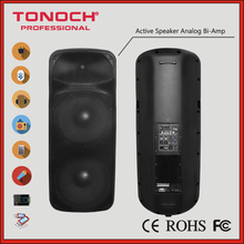 "0 risk! 10 Years Manufacture Experience Factory Supply Tonoch Professional Dual 15"" THR215UB Active Speaker Box Loudspeaker"