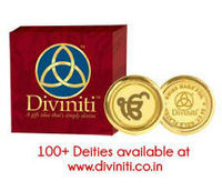 Gold Plated Coins Diviniti with Ek Omkar
