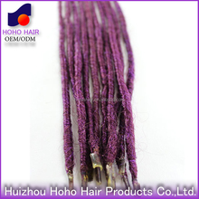 Ombre kanekalon synthetic hair , synthetic ombre marely hair braid , purple marley hair braid