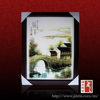 Modern style chinese design buhdda fogure ceramic handicraft vase picture