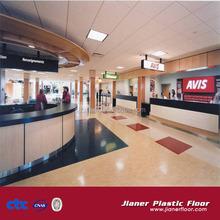 Produce hot sales high quality commercial non-slip lvt pvc vinyl floor covering 6mm click