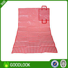 printing foldable good price rolling padded beach mat