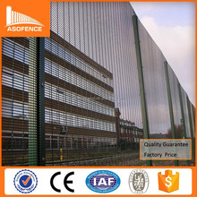 Anping factory supply anti climb prison fence / 358 security fence / 358 fence