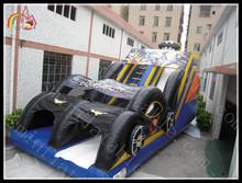 cycle racing anime characters inflatable slide