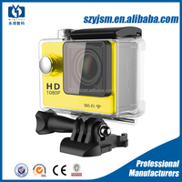 Fashion 2015 newest Support and HDD / Flash Memory Media Type H9 Ultra-wide Fish-eye Lens Sports Action Camera