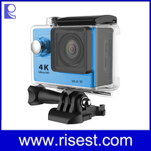 Top Rated 4K Motorcycle Helmet Camera , 4KFull HD 1080P Action Cam, 30M Action Camera,2 inch WIFI Sport Diving DV