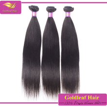 top grade can be bleached,restyled,colored virgin remy malaysian straight hair weft