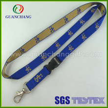 Custom jacquard evod battery necklace lanyard