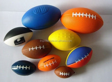 2014 New PU Product Custom Anti Stress Ball Rugby