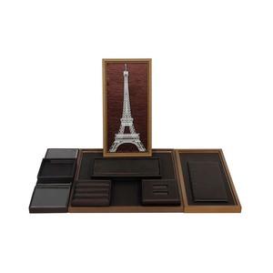 de madera de alta final creativo del pie exhibición de la joyería proveedor de imágenes