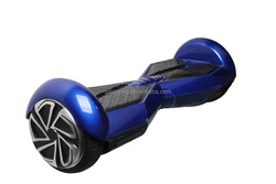 electric balance skateboard with decorative lamp and remote control unit