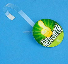 Factory Price Custom Good Quality 6 Color UV Pritning Plastic Shelf Wobblers Dangler
