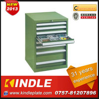 Kindle 2013 New Custom movable Industrial tool storage cabinet with Heavy drawers and wheels