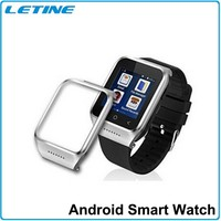 2015 Top sale MTK6577 android smart watch phone with 1.54 inch screen