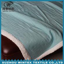 100% Acrylic Knitted Plain Adult Blanket Throw