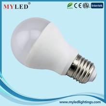 3W-12W E27 Plastic+Aluminum CE/RoHS Qualified LED Lighting Bulbs from Ningbo Professional Manufacturer