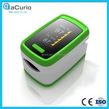 Único de pulso dactilar oxímetro / oxymeter, pulso eléctrico contador para el cuidado de la casa