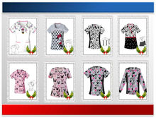 OEM-Z(X) printed medical uniforms / pictures nursing uniforms / pictures of uniforms for nurses