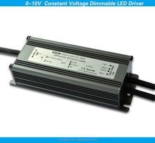 dimmable 1.25A 24v 30w 0-10v dimmer pwm constant voltage led driver waterproof for led light bulbs
