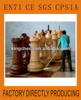 giant outdoor garden chess game kids play set