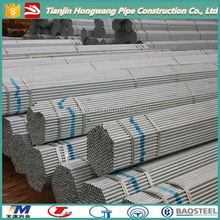 Galvanized Steel Pipe for gas/fluid/costruction/greenhouse/sun power