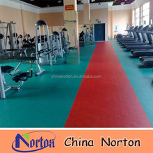 non slip gym pvc floor /sports pvc flooring surface NTF-PS103B