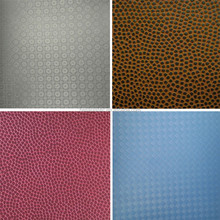 High Quality Embossed PU Ball leather in Durable Synthetic Ball Leather material for Ball, Football, Volleyball, Shoe, Bag