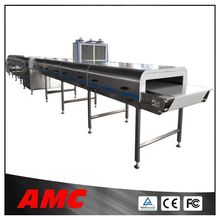 Maneuverable Natural Choice Chocolate ,Doughnuts,Candy Cooling Tunnel Machine