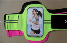 Reflective Lycra Sport Armband Running Sport Armband for iPhone 6 & Galaxy S5