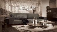 Modern Fashion Hot Designs Fabric Leather Customize Size Sofa Solid Wood Sofa Set Lorenzo Sofa Malaysia