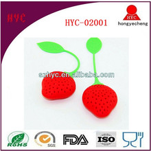 2015 Wholesale OEM Durable Silicone Cute Tea Infuser Silicone for Gifts
