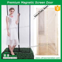 Cool Air Flow Magnetic Bug Screen Kids Door Curtains