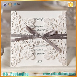 Latest design ideal products wedding cards/unique wedding invitation cards