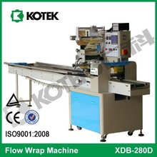 Bread Cake Flowrapping Horizontal Form Fill Seal Machine Packing Machinery Flow Wrap Equipment