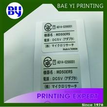 Printing Die Cut vinyl electic Sticker