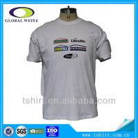 Fashion korea design wholesale round neck t-shirt