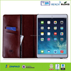 Custom wallet case for iPad Air 2 with good quality