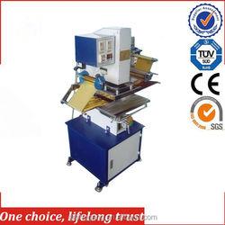 TJ-9 pneumatic heat press 29*21 for paper card wedding invitations A4 hot foil printing