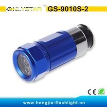 GS-9010S-2 0.5W car cigarette lighter mini led flashlight torch lamp