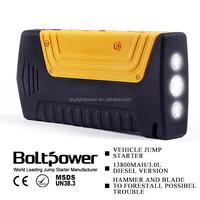 2015 Best selling car jump starter Auto Mobile Jump Starter CE&FCC&ROHS approved jumper starter 12v