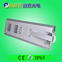 30W 2015 newest latest hot sale all in one integrated solar led street light solar powered led beacon