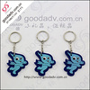 Alibaba wholesale made in China soft pvc rubber keychain