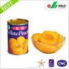 new products canned yellow peach canned fruit